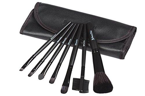 Professionelles Makeup Pinsel-Reise-Set (enthält Lippen-Pinsel, Lidschatten-Pinsel,...