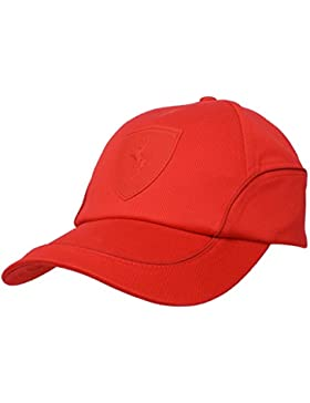 PUMA Ferrari - Gorra, diseño de Ferrari rojo rojo Talla:adultos