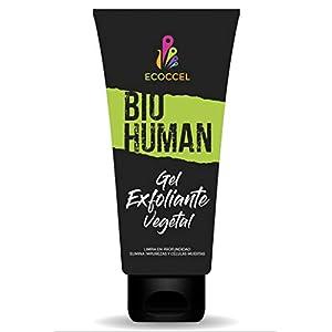 Gel Exfoliante facial y corporal con ingredientes biológicos hidratantes. Peeling natural que estimula la renovación…