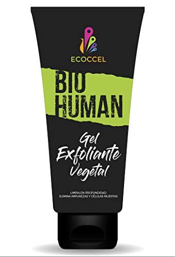 Gel Exfoliante facial corporal ingredientes biológicos
