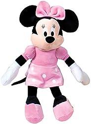 Minnie Mouse - Peluche 40Cm, Colore Rosa