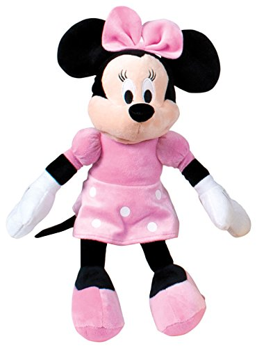 Minnie Mouse - Peluche, color rosa (Famosa 760011896)