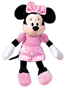 Minnie Mouse- Minnie Mouse - Peluche, Color Rosa (Famosa 760011896),, 18 x 7 x 46 (