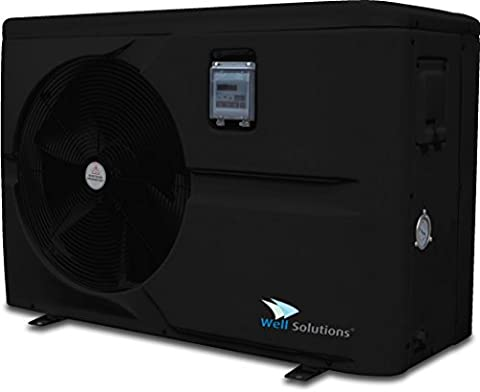 Well Solutions® Schwimmbad Pool Wärmepumpe Hydro Pro 13 kW Modell 2017 (13 kW)