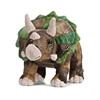 Living Nature Soft Toy, Prehistoric Dinosaur Triceratops, T-Rex Plush Toys