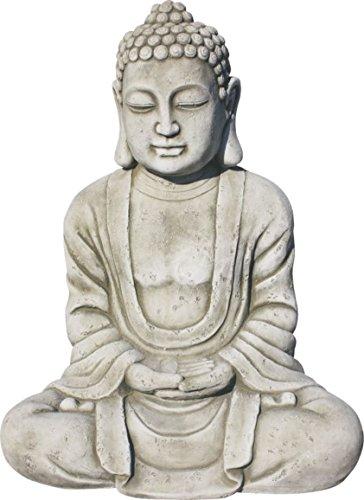 AnaParra Estatua Buda Tissa del Éxito Figura Decorativa para Jardín o Exterior...