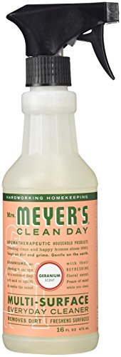 Mrs. Meyer's Clean Day Multi-Surface Everyday Cleaner - 16 oz - Geranium
