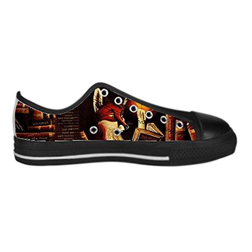 Dalliy Fox Women's Canvas Shoes Lace-up High-top Footwear Sneakers Chaussures de toile Baskets C
