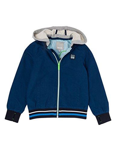 Bench Jungen Jacke Nylon Baseball Jacket with Removabl, Blau (Dark Navy Blue NY013), 140 (Herstellergröße: 9-10)
