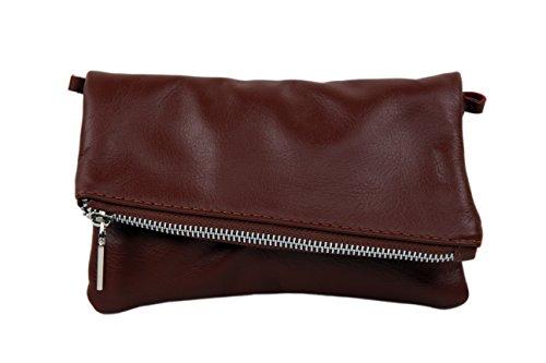 "SLINGBAG ""Samira II"" Clutch / Handtasche / Umhängetasche aus hochwertigem Leder / FARBAUSWAHL"