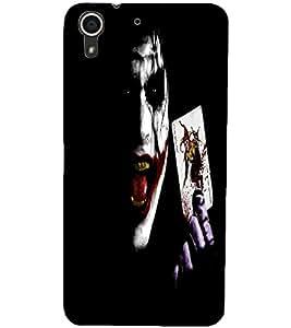 PrintDhaba Joker D-2271 Back Case Cover for HTC DESIRE 728 (Multi-Coloured)