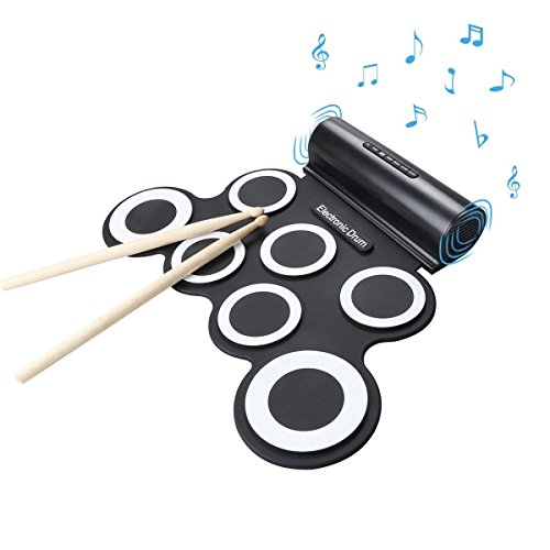 wasanstore-roll-up-electronic-drum-portable-pad-kit-with-speaker-entertainment-kids-gift-childrens-d