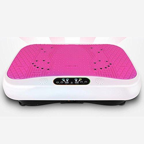 Slim Power Vibrationsplatte mit Kostenloser DVD, Resistance Bands + Remote Watch,