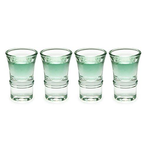 Juego de 4vasos de Shot 7ml, vaso de chupito Stam Perla, marca Gan