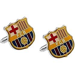 Gemelos Barcelona CF en color