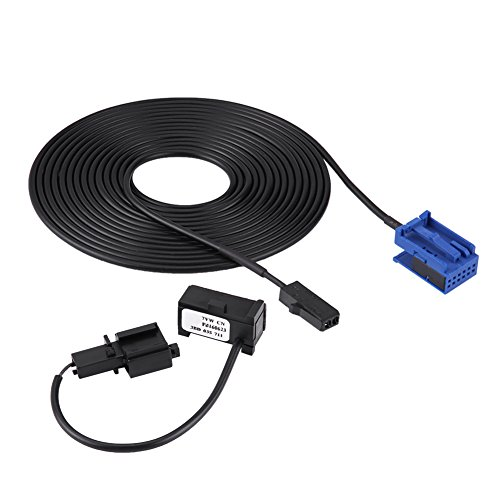 Bluetooth Wring,Bluetooth Mikrofonkabel Kit für 307 308 Und C4 C3 C5 RD45 CD-Player