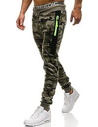 BOLF Pantalons de sport – Jogging – Military – Sport – Training – Motif – Homme [6F6]