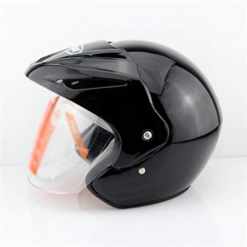 WRDH Casco De Motocicleta,Moto Motocross Full Cascos Motocrós Motobike Four Seasons Cascos con Ajustable Doble Visera Road Safety Cycling Helmet para Mujer Hombre Unisex