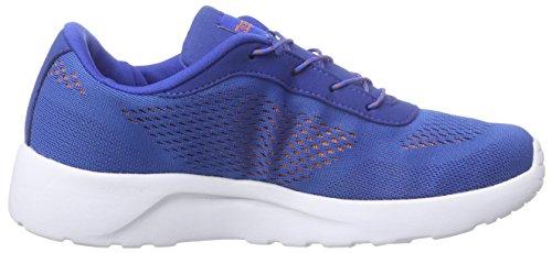 Kappa Delhi Footwear Unisex, Mesh, Scarpe da Ginnastica Unisex - Adulto Blu (Blau (6044 blue/orange))
