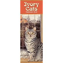 Ivory Cats slim calendar 2018 (Art Calendar)