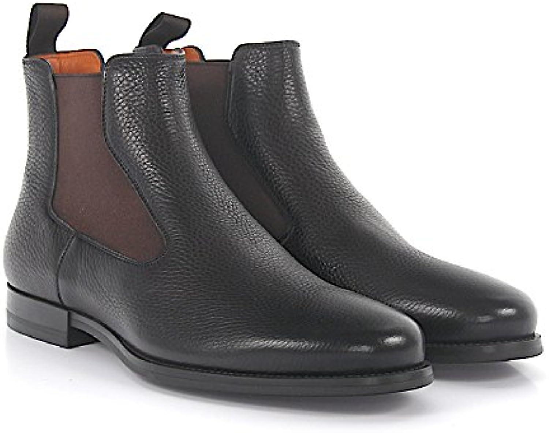 Chelsea Boots 15307 Leder Braun  Billig und erschwinglich Im Verkauf