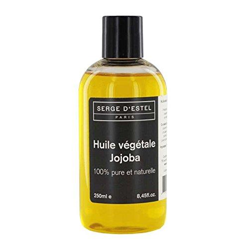 Huile de Jojoba 250ml Première Pression à Froid Huile de Qualité Premium 100% Pure Soin Peaux Matures Cheveux Cassants Anti-Rides Brillance Protection Réparant Huile de Soin Acné Peaux Grasses