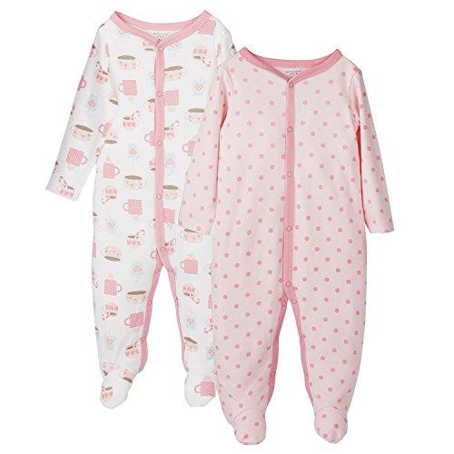 Baby-Mädchen Schlafstrampler-12 Monate,2er Pack,von Future Founder