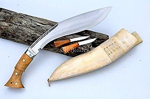 Echtes gurkha Kukri Messer - 30cm Klinge Weltkrieg Historisches Kukri - Handgefertigt in Nepal-hanmade khukuri from Nepal