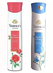Yardley London Red Rose And English Bluebell Deodorant For Women (150-ML)