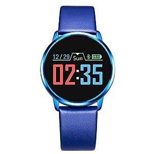 Adsvtech Smartwatch, Impermeable Reloj Inteligente Mujer Hombre, Pulsera