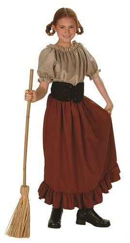 (Child's Renaissance Peasant Girl Halloween Costume (Size: Large 12-14) by RG Costumes)