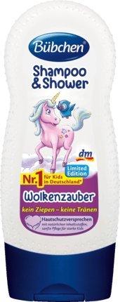 Kinder Duschgel / Shampoo EINHORN WOLKENZAUBER (230 ml) KEIN ZIEPEN - KEINE TRÄNEN