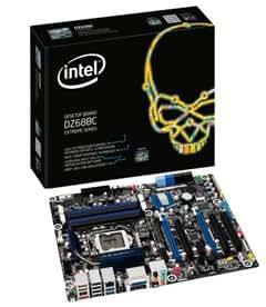 Intel Carte mère DZ68BC Extreme Series Socket 1155 Chipset 2 xSATA III / 3 xSATA II 2 x USB 3.0 / 6 x USB 2.0 GLAN 8-Channel Audio ATX