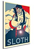 "Poster Full Metal Alchemist ""Propaganda"" Sloth - Formato A3 (42x30 cm)"