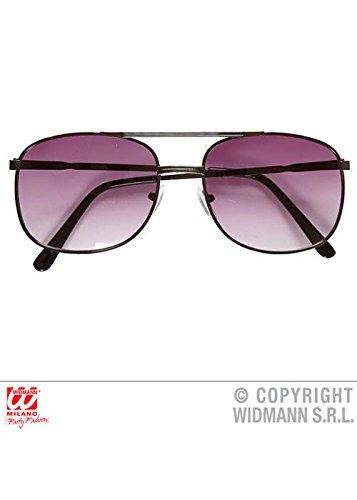 Mens 1980s Detektiv-Sonnenbrille
