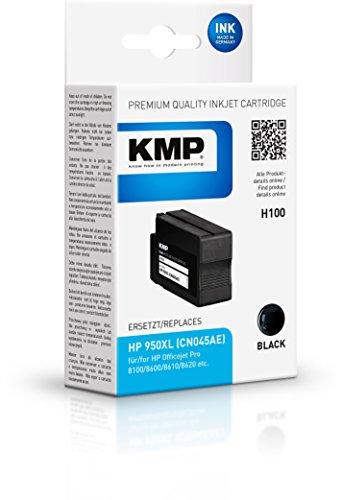 Preisvergleich Produktbild KMP Tintenkartusche für HP Officejet Pro 8600, H100, black