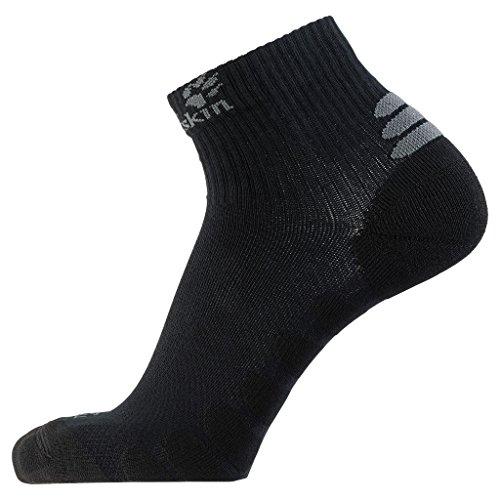 Jack Wolfskin Socken Travel Organic Mid Cut, Black, 35-37