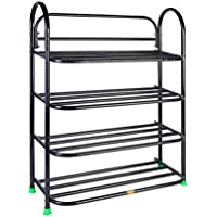 Patelraj Metal Shoe Stand ( Multicolor , 4 Shelves)