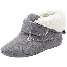Zapatos de bebé SunGren Botas para la Nieve Suave de la suavidad del bebé Zapatos Suaves