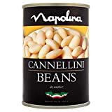 Napolina Cannellini Beans, 400 g, Pack of 12