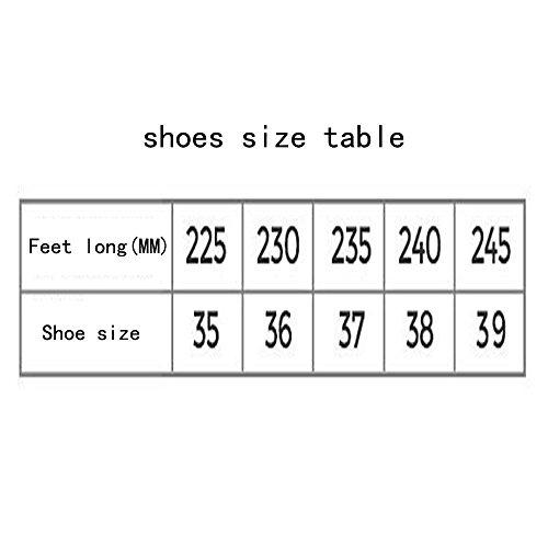 Le donne cadono in mare sport scarpe casual scarpe respirabili scarpe da ginnastica scarpe nere Grey