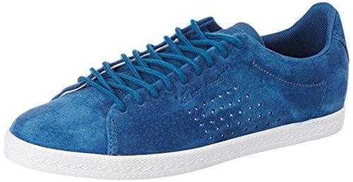 Le Coq Sportif Damen Charline Nubuck Trainer Low Blau (Ink Blue)