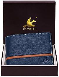 Hornbull Men's Denial Genuine Leather RFID Blocking Wallet