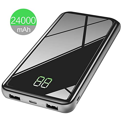 Power Bank Caricabatterie USB  con Display LCD