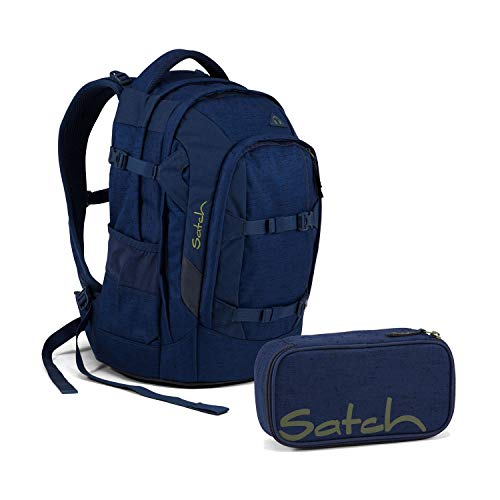 Satch Pack Ocean Dive Schulrucksack Set 2tlg. -