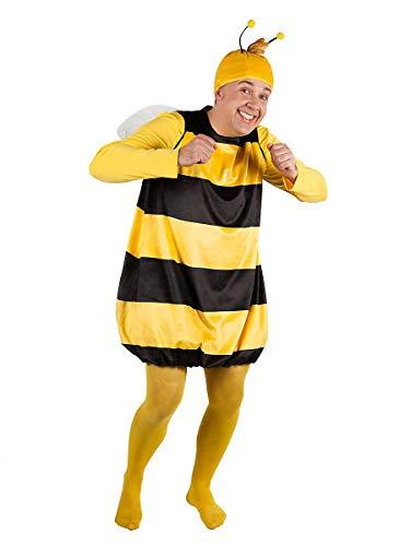 Déguisement Willi de Maya l'abeille, Carnaval (Taille: Adulte XL)