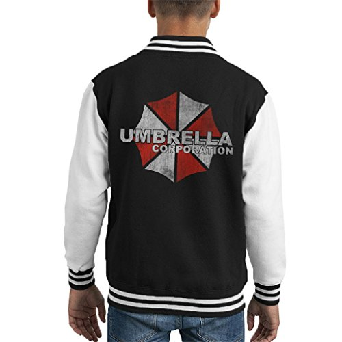 Cloud City 7 Resident Evil Umbrella Corp Logo Kid's Varsity Jacket