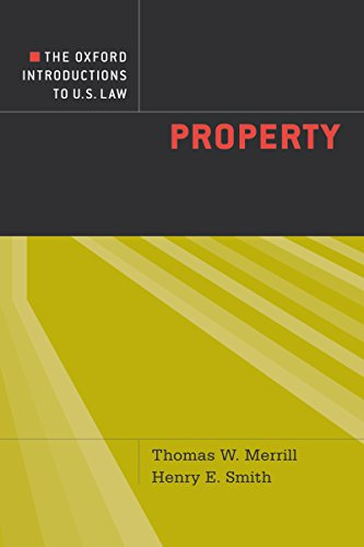 The Oxford Introductions to U.S. Law: Property (English Edition)