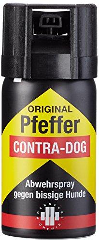 Ks Contra Dog Man Pfefferspray, Schwarz, 40 ml