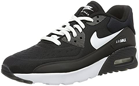 Nike Air Max 90 Ultra SE (GS), Chaussures de Running Entrainement Homme, Blanco (Black / White), 39 EU